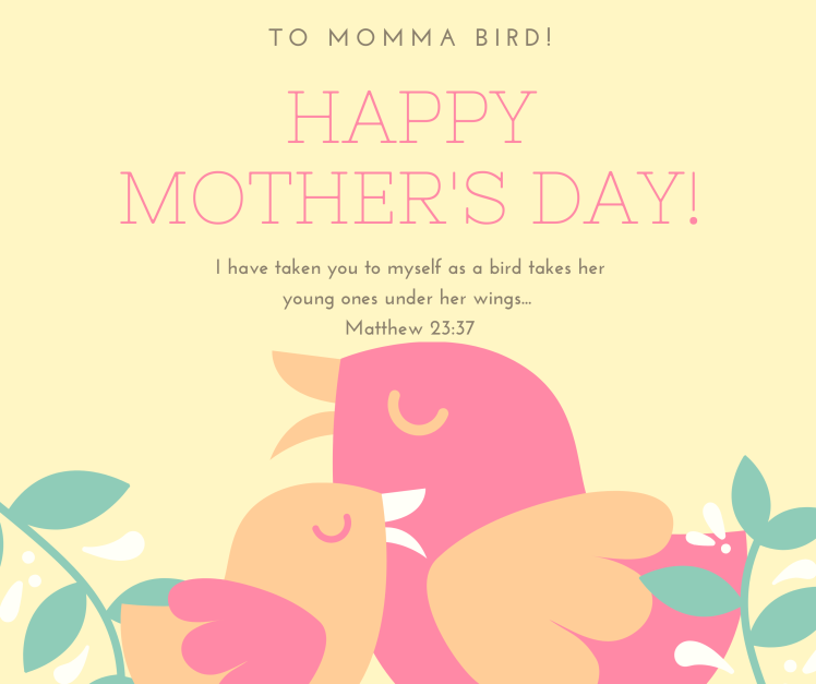 Pastel Illustrated Mother's Day Facebook Post